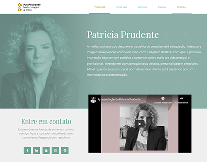 Website Patrícia Prudente