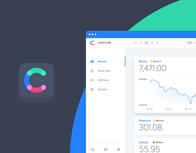 Cointube — Cryptocurrency Tracking App