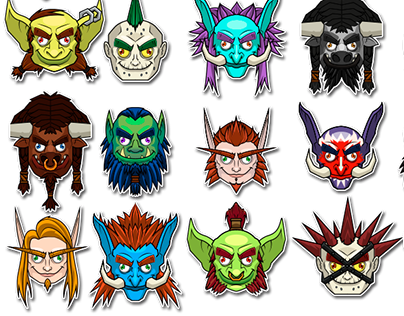 For the Horde! - Stickers