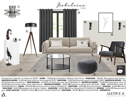 Planche mobiliers 1
