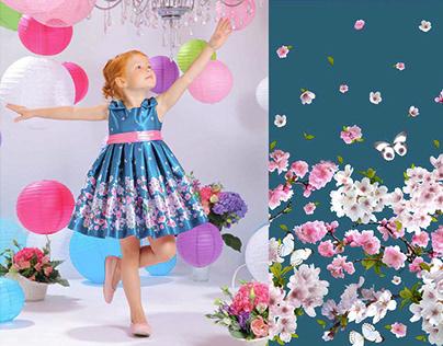 "Textile prints collection for ""Malenkay Ledy"" brand"