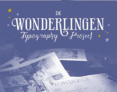 De Wonderlingen - Typography Project