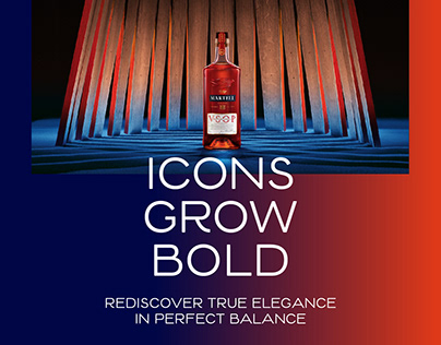 Martell Red Barrels: Icons Grow Bold