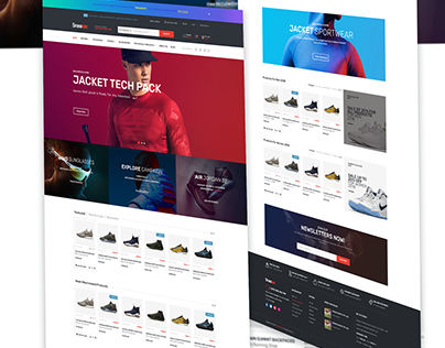 E- Commerce UI design