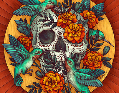 Day of the Dead 2018 Calendar