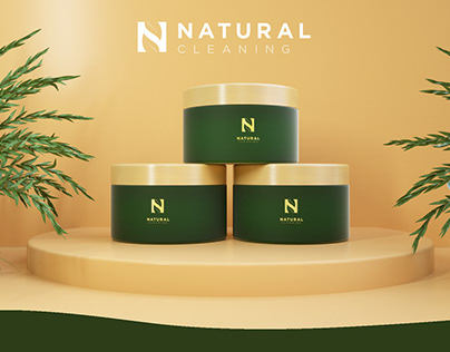 Natural Cleaning / 3D packaging