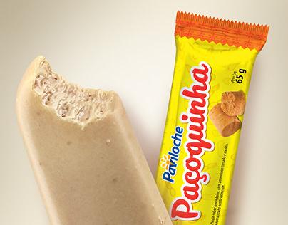 Picolé Paçoquinha Paviloche
