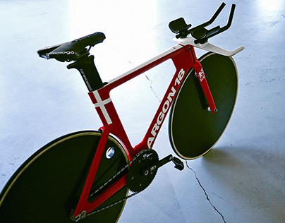 Argon 18 - Electron Pro - Danish track team's bike