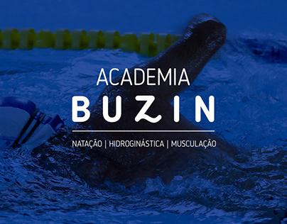 Identidade Visual e Site - Academia Buzin