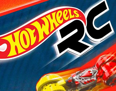 Hot Wheels RC--packaging & branding