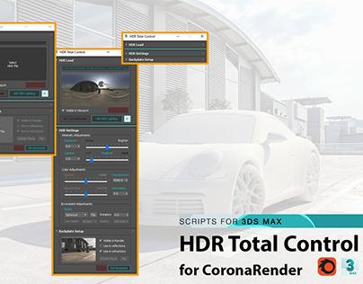 Script Utilities | HDR Total Control for CoronaRender