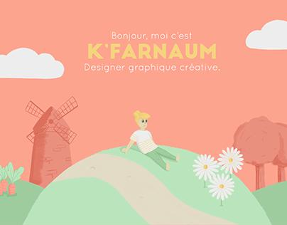 K'farnaüm - Illustrations et refonte du site