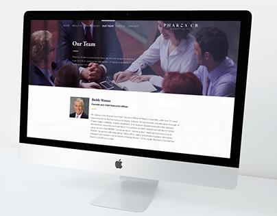 Hospitality Company Landing Page