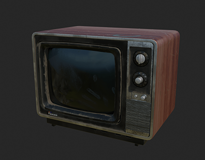 Old TV - Substance Painter Study