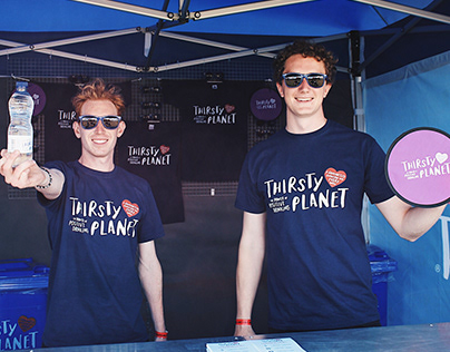Thirsty Planet: Branding at We Are Festival