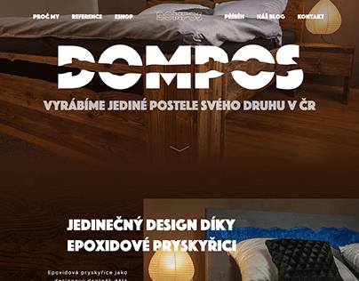Tvorba webu - Dompos (2019)
