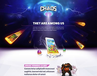 Team Chaos website