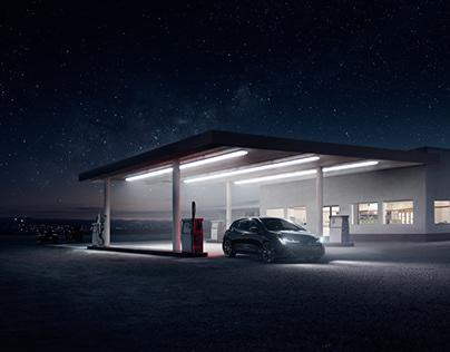Toyota Corolla Nightshade – CGI