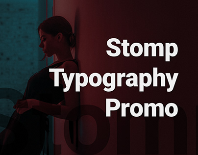 Stomp Typography Promo - After Effects Template