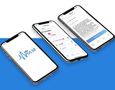 Мобильное приложение – Life Pulse
