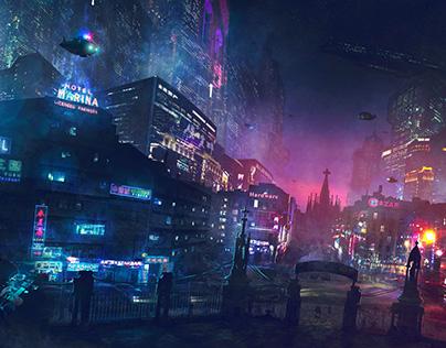 2014 - Barcelona Smoke & Neons