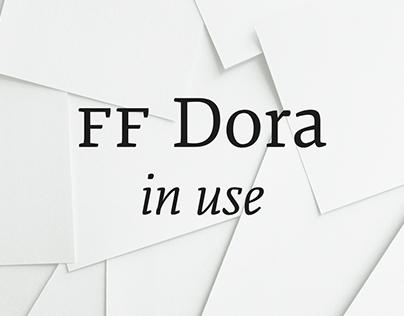 FF Dora in use