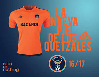 Quetzales FC (Badge and Jersey Advertising)
