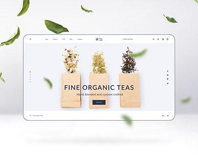 Tealeaf - Online Tea Shop / E-commerce