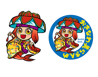 Character design for sales promotion of red sea bream.
