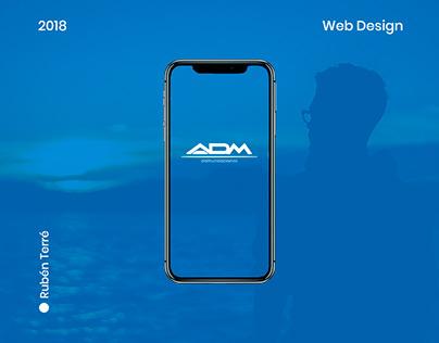 Web Design ADM Comunicaciones