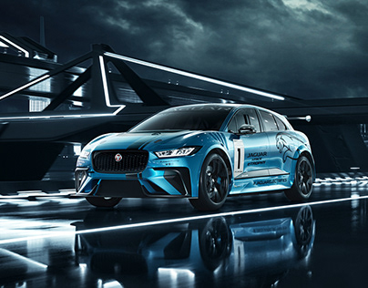Jaguar Racing I-PACE eTrophy 2018