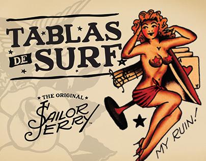 SJ Tablas de Surf
