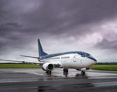 BOEING LY-JMS Exterior shoot