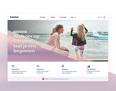 Schiphol Airport - Rebranding
