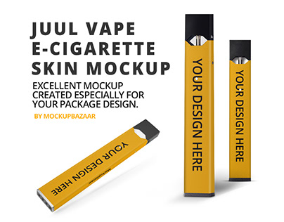 JUUL Vape E-Cigarette Skin Mockup