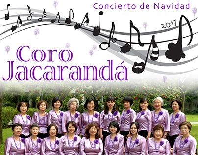 Coro Jacarandá -Poster, program flyer, and tickets