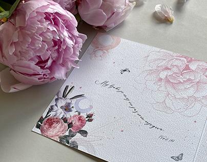 Poročna vabila M+D / Wedding invitations M+D