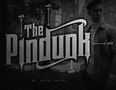 FREE | Pindunk Typeface