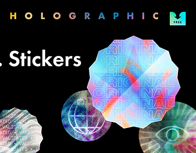 Free Download: Holographic Stickers