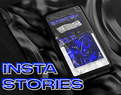 Blue&Black Plastic Instagram stories pack