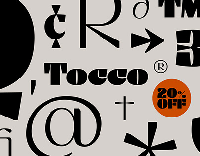 Tocco – Display Font