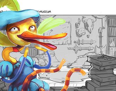 Adventures of Ooo - Choose Goose Storyboards + design