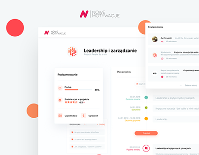 NoweMotywacje.pl - UX&UI Design