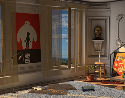 Interior Design - Animation Scene