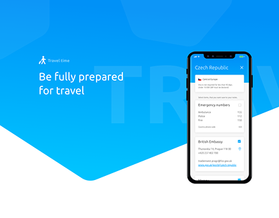Concept App for Travellers