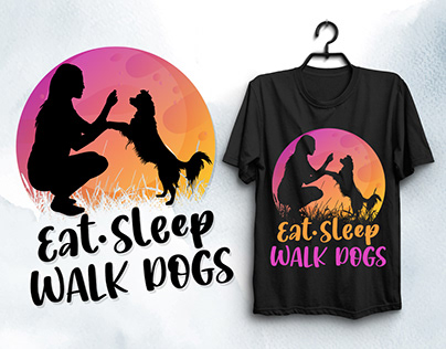 Dog Lover T-Shirt Design