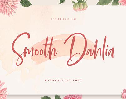 Smooth Dahlia Handwritten Font