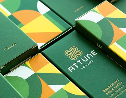 ATTUNE Skincare - Branding and Packaging