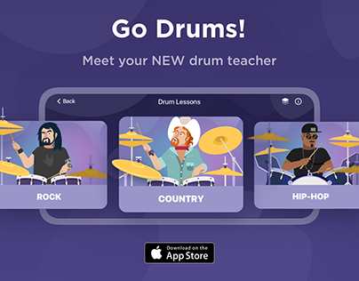 Go Drums app by Gismart