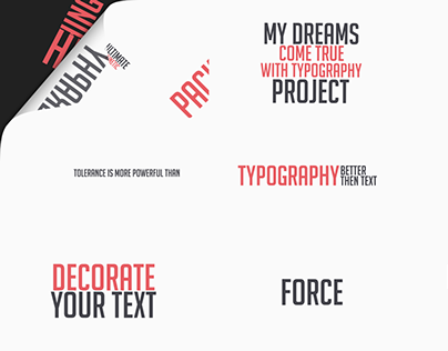 Ultimate Kinetic Typography Package